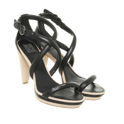 Calvin Klein Strappy sandals in black