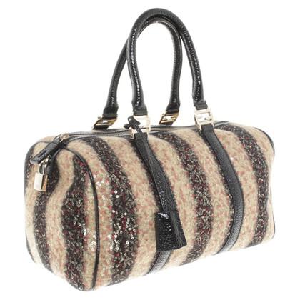 Fendi Handbag with Strip/sequins