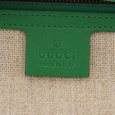 Gucci Schultertasche in Grün Grün Spielraum Großer Rabatt Freies Verschiffen Niedrig Versandkosten tvc9kvN
