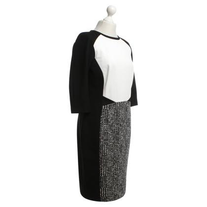 Marc Cain Dress in black / white