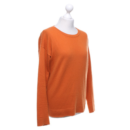 Allude Cashmere sweater in orange
