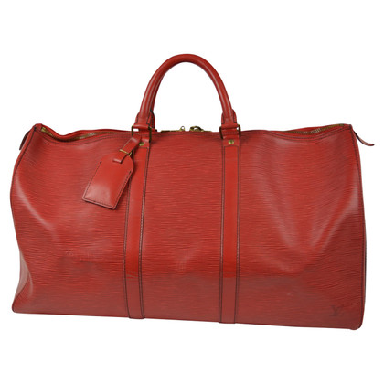 "Louis Vuitton ""Keepall 50 Epi Leather"""
