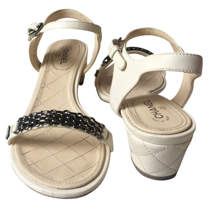 Chanel Chanel sandals quilted leather