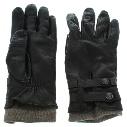 Other Designer Leather gloves in dark brown