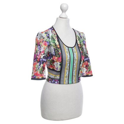 Clover Canyon Top mit Motiv-Print