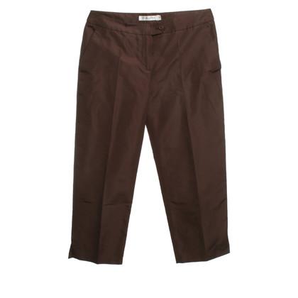 Christian Dior Silk pants in brown