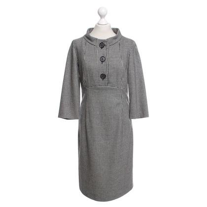 Bogner Kleid in Schwarz/Weiß