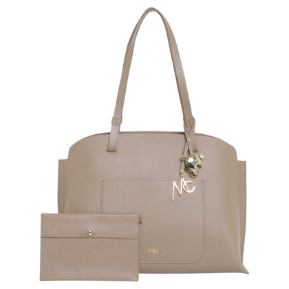Marc Cain Shoulder bag in beige