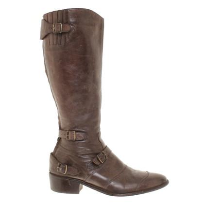 Belstaff Boots in Bruin