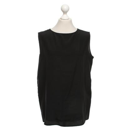 Andere merken Aspesi - zijden overhemd in zwart