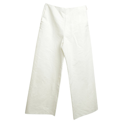 Maje Flared Pants in White
