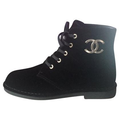 Chanel Stivaletti in velluto