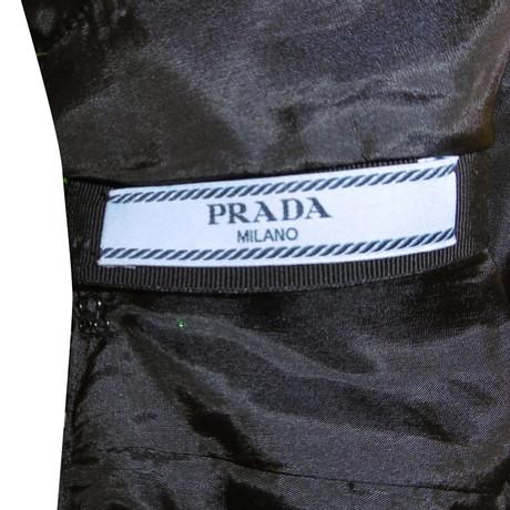 9d0c36a0c665c Kleid Pailletten-besatz Mit Prada Muster Bunt raram.teenikkey.com