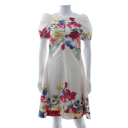 Céline Dress with a floral pattern