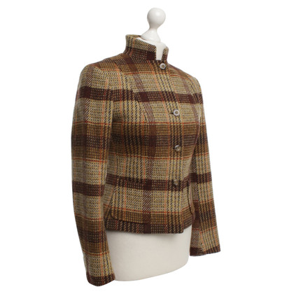 Max Mara Jacket in check pattern