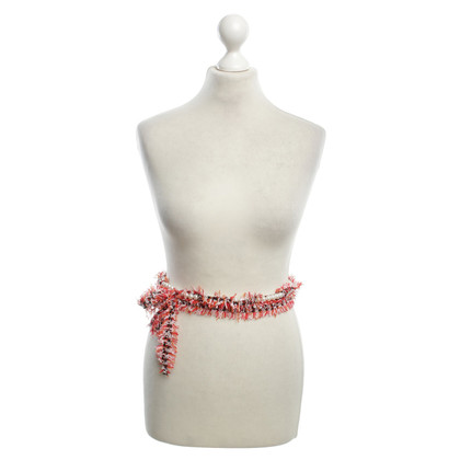 Lanvin Boucle belt with pearls