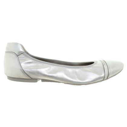 Hogan Ballerinas aus Leder