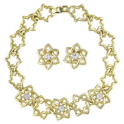 Pierre Balmain Star Set Necklace and Earrings