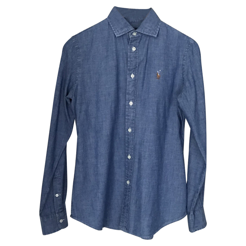 polo ralph lauren jeansbluse second hand polo ralph lauren jeansbluse gebraucht kaufen f r 50. Black Bedroom Furniture Sets. Home Design Ideas