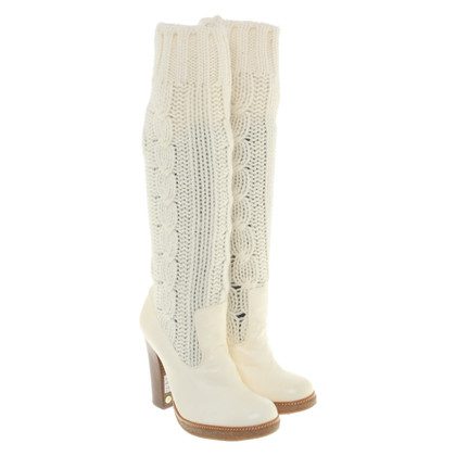 Dolce & Gabbana Boots in cream
