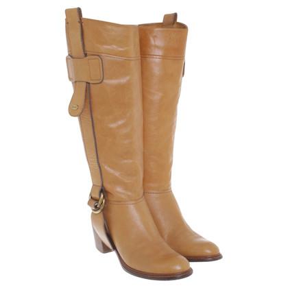 Chloé Okerkleurige boots