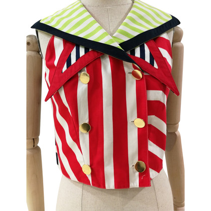 Versace Striped vest