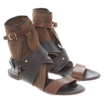 Chloé Sandals in Brown/khaki