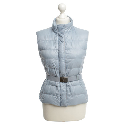 Prada Drops sleeveless Cardigan in light blue