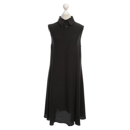 Karl Lagerfeld Silk dress in black