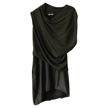 Helmut Lang Asymmetrical dress in grey
