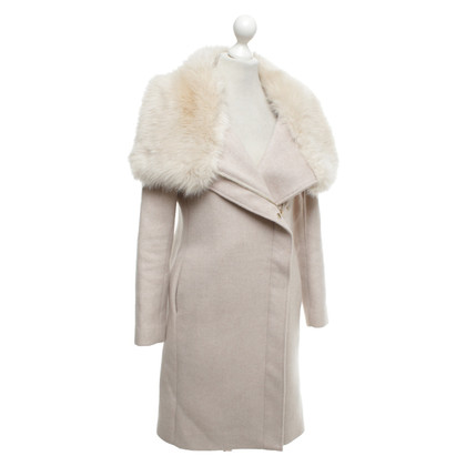 Club Monaco Coat in nude