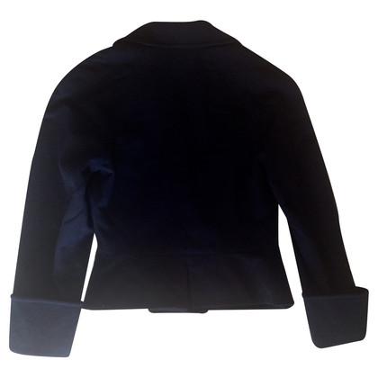 Chloé Marine korte wol jas