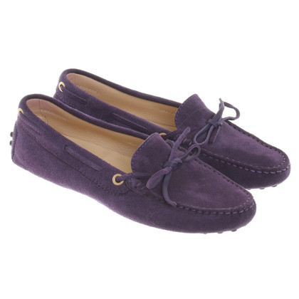 Tod's Slipper in purple