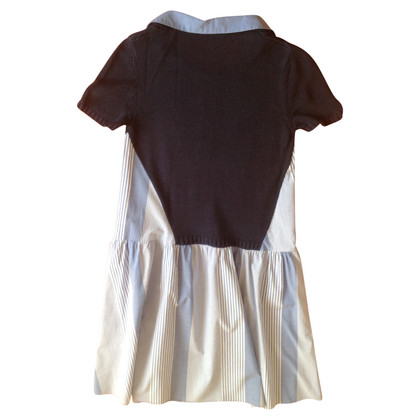 Max & Co Short sleeve dress with knit insert