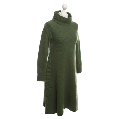 Iris von Arnim Knit dress in green