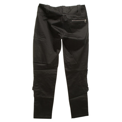 Marithé et Francois Girbaud trousers in black