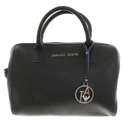 Armani Jeans Handtasche in Schwarz