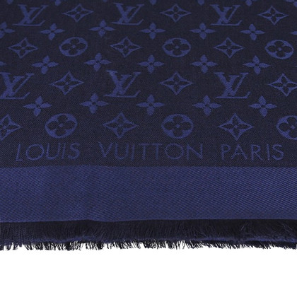 Louis Vuitton Monogram stof in midnight blue