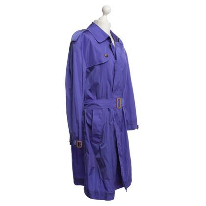 Burberry Coat in Purple