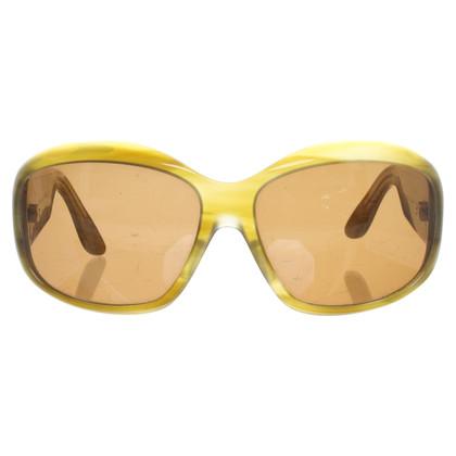 Oliver Peoples Sonnenbrille in Grün