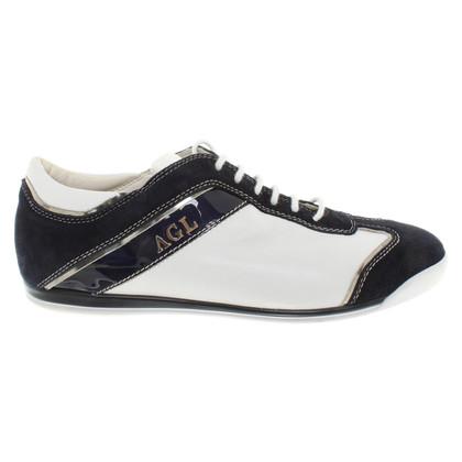Other Designer AGL - Sneaker in Blue / White