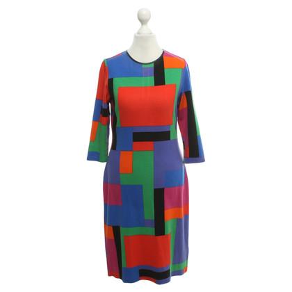 Ralph Lauren Jersey-Kleid in Color-Blocking