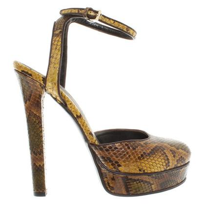 Gucci pumps snakeskin
