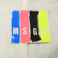 MSGM Giacca corta con mix di modello