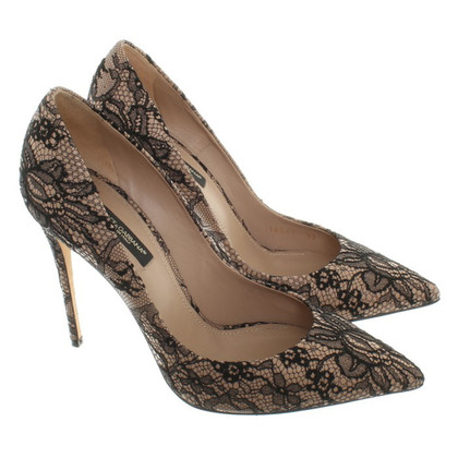 Dolce & Gabbana pumps with lace