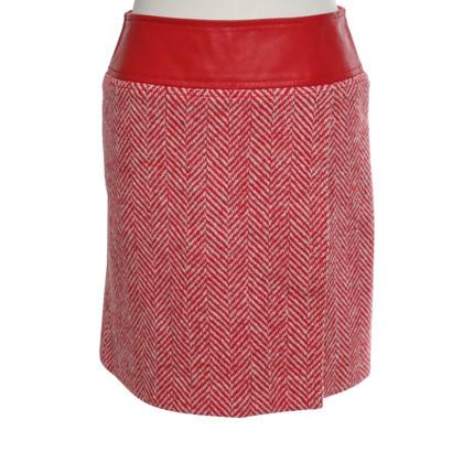 Dolce & Gabbana skirt in red / white