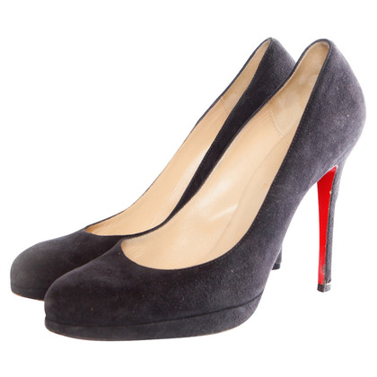 Christian Louboutin Black Suede pumps
