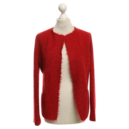 Isabel Marant Boucle jacket in red