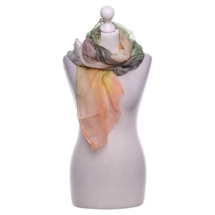 Moschino Zijden sjaal in Multicolor