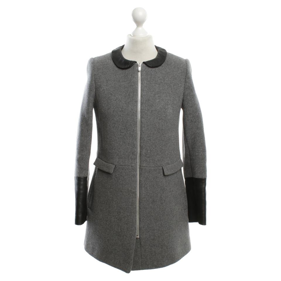 Claudie Pierlot Coat in grey